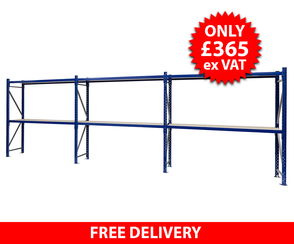 4.8 Metre Hand Loaded Racking